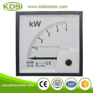 Easy installation BE-96 5KW 220V 20 / 1A single phase power meter