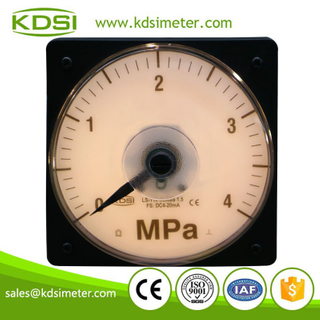 Marine meter LS-110 DC4-20mA 4MPa panel analog backlighting pressure meter