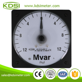 Original manufacturer high Quality LS-110 +-12Mvar 11kV/110V 750/1A panel analog wide angle reactive power meter