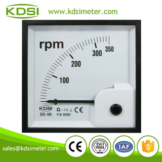 Taiwan technology BE-96 DC6V 350RPM high quality voltage tachometer rpm meter