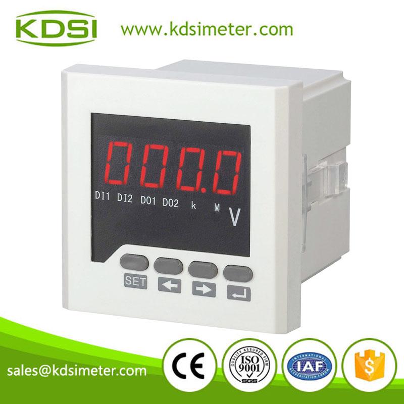 Single Phase Led : Ac led single phase digital voltmeter panel