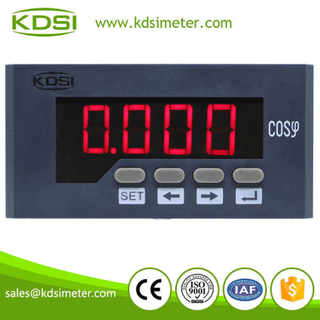 Portable precise digital meter BE-96x48H COS single phase power factor panel meter