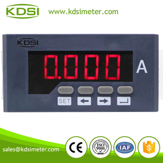 Easy installation BE-96x48AA AC600/5A single phase electric panel mounted digital ammeter