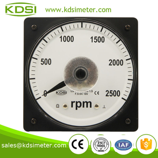 LS-110 RPM meter DC10V 2500RPM wide angle car electronic speedometer