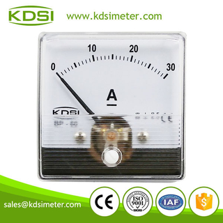 CE certificate BP-60N 60*60 DC30A analog ammeter dc amps
