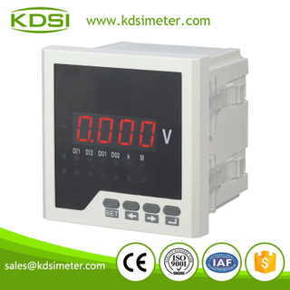 Classical 96*96 single phase BE-96 AV automotive digital voltmeter