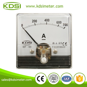 Factory direct sales BP-60N 60*60 DC60mV 700A industrial ampere meter
