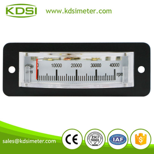 Instant flexible BP-15 DC10V 40000rpm analog panel thin edgewise rpm meter
