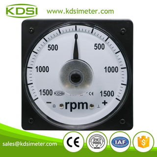 Manufacturer analog display LS-110 DC+-10V+-1500rpm wide angle tachometer for vessel for train