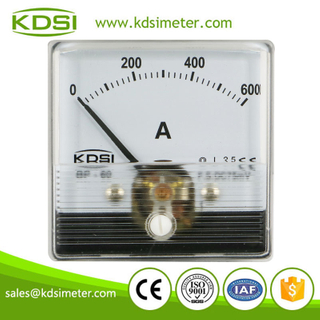 Portable precise BP-60N DC60mV 600A analog panel price of ammeters