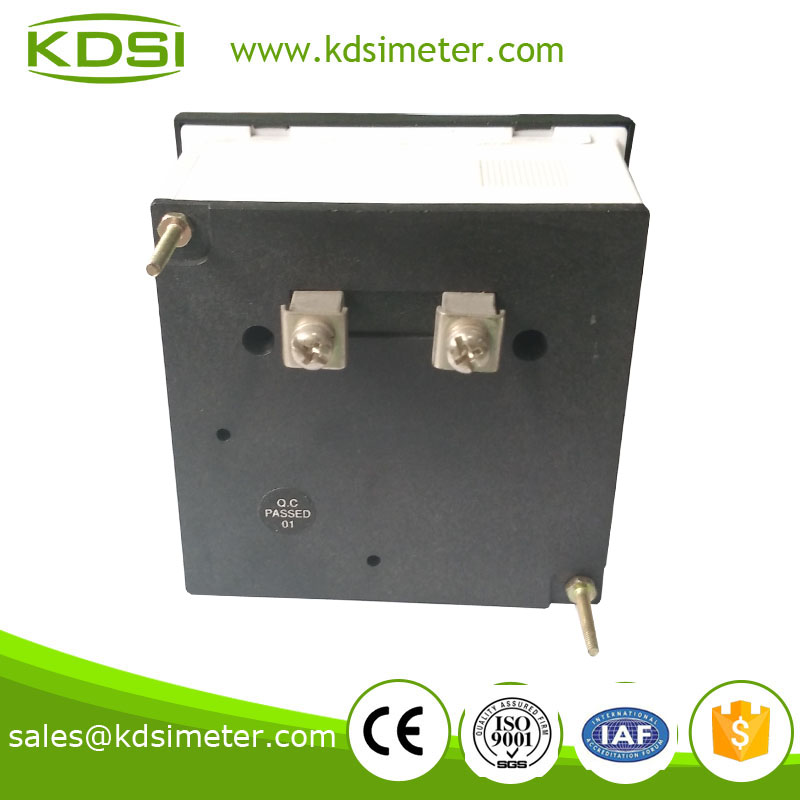 Original manufacturer high Quality BE-80 DC+-75mV+-30A panel analog dc amperemeter with zero in center