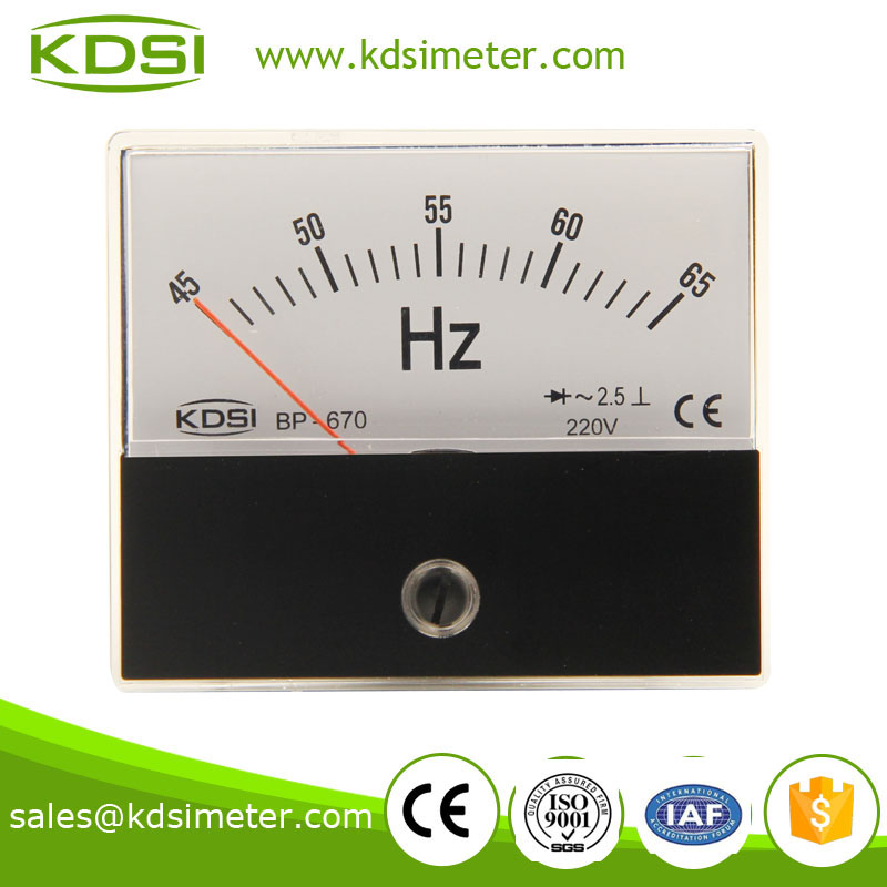 Panel Mount Frequency Counter : Frequency meter industrial universal analog factory