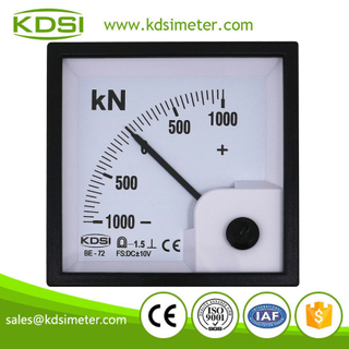 KDSI electronic apparatus BE-72 DC+-10V+-1000KN panel analog voltage torquemeter