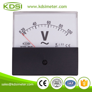 Original manufacturer high Quality BP-80 AC100V black cover analog panel ac voltmeter