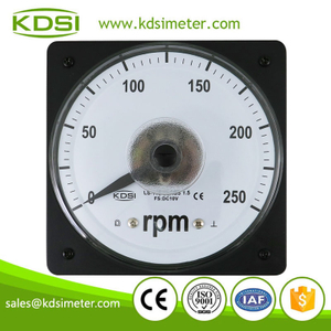 CE certificate LS-110 DC10V 250rpm analog panel rpm rotational speed meter