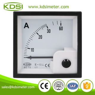 CE certificate BE-72 AC30A direct ac panel analog ammeter