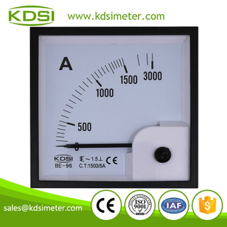 KDSI electronic apparatus BE-96 AC1500/5A analog ac panel ampere controller