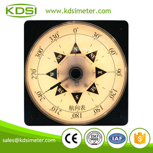 New design wide angle LS-110 DC4-20mA 360degree panel analog backlighting Heading Indicator