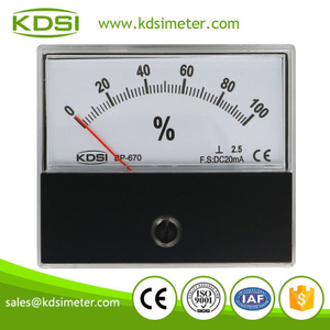 Hot Selling Good Quality BP-670 DC20mA 100% electrical load calculation panel meter