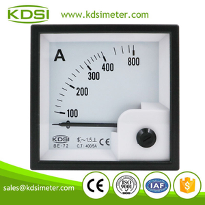 Hot Selling Good Quality BE-72 AC400/5A ac panel analog ampere indicator