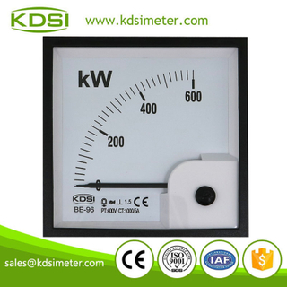 CE certificate BE-96 3P3W 600kW 400V 1000/5A analog panel mounting power meters