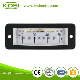 Original manufacturer high Quality BP-15 DC60V analog panel mini thin edgewise voltmeter