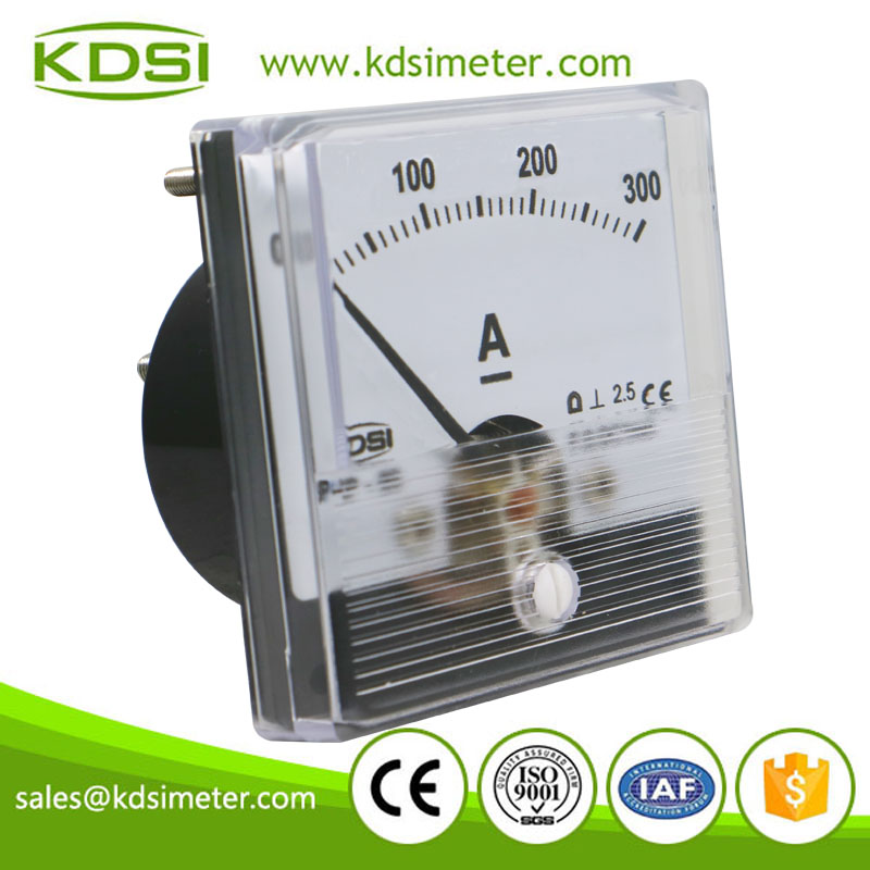 CE Approved BP-60N DC1mA 300A analog panel mount ammeter