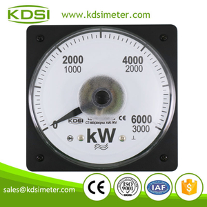 KDSI electronic apparatus LS-110 3P3W 3000/6000kW analog panel power meter