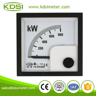 Hot Selling Good Quality BE-48 DC4-20mA 800kW analog dc panel amperemeter