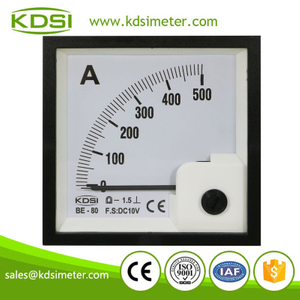 High quality professional BE-80 DC10V 500A panel analog dc current controller