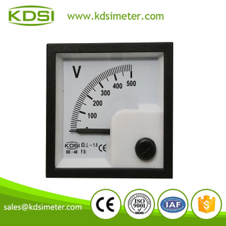 High quality BE-48 DC Voltmeter DC500V analog electronic voltmeter