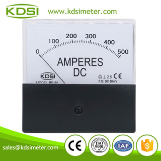 Hot Selling Good Quality BP-80 DC50mV 500A black cover analog dc amp panel meter