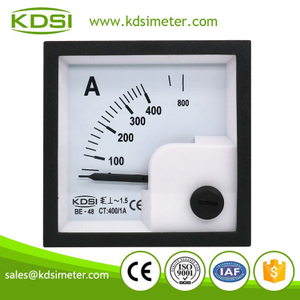 Hot Selling Good Quality BE-48 AC400/1A ac analog mini panel ammeter with output