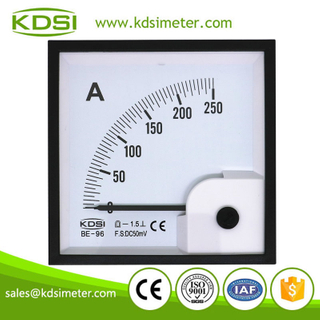 Factory direct sales BE-96 D50mV 250A dc analog voltage and current meter panel meter
