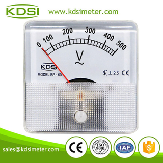 KDSI electronic apparatus BP-60 AC500V direct analog ac panel mount voltmeter