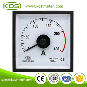 High quality professional BE-96W AC200/5A 2times marine analog amp current panel meter