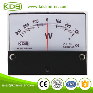 New Hot Sale Smart BP-100S DC+-1mA+-300W dc panel analog watt meter