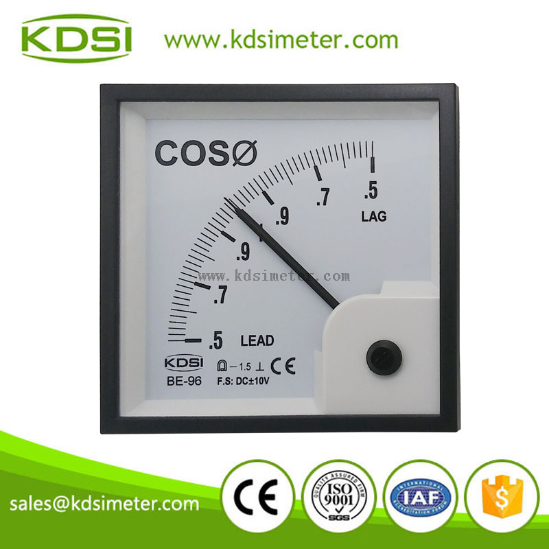 Power Factor Meter Analog : Display power factor meter analog panel
