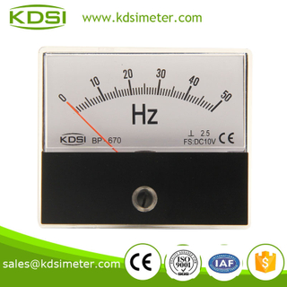 Portable precise BP-670 DC10V 50HZ generator frequency meter