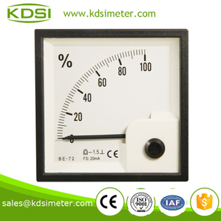 Industrial universal BE-72 DC20mA 100% current load meter