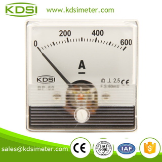 Special Meter for Welding Machine BP-60N 60*60 DC600A analog ammeter